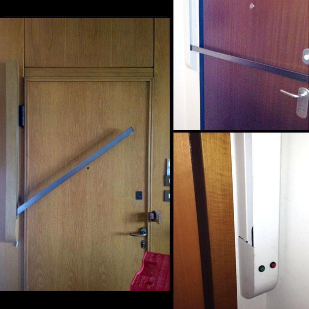 Documento senza titolo - Sbarra di sicurezza per porte ...